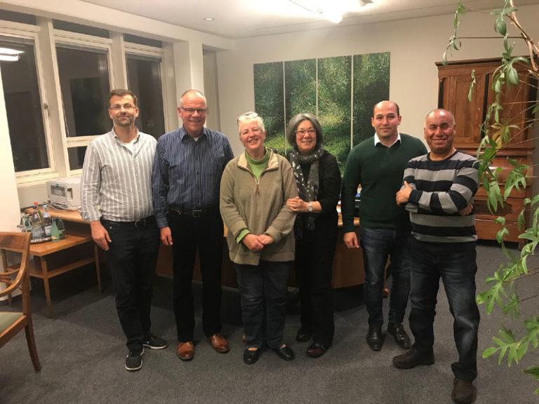 Runder Tisch Integration – Stadtpräsident Hannes Fuhrig trifft Vorstand