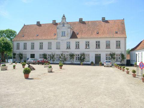 Schloss Glücksburg bei Flensburg – Rosarium