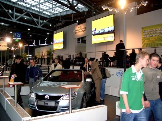 Fotos CEBIT Hannover 2006