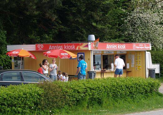 Impressionen Sønderhav Annies Kiosk in Dänemark
