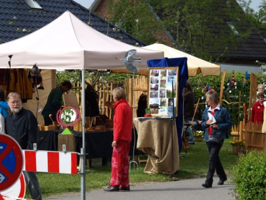 Fotos Kunsthandwerkermarkt Süderschmedeby und Pfingstmarkt auf Gut Oestergaard 2010