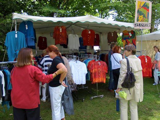 Fotos Glücksburg Ostsee – Kunsthandwerkermarkt 2008