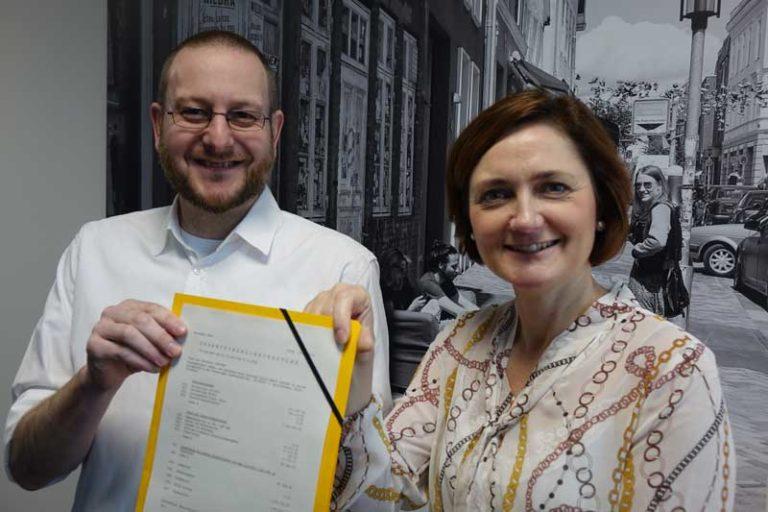 1.3 Mio. Euro für die Digitalisierung der Stadtverwaltung Flensburg vom Bund