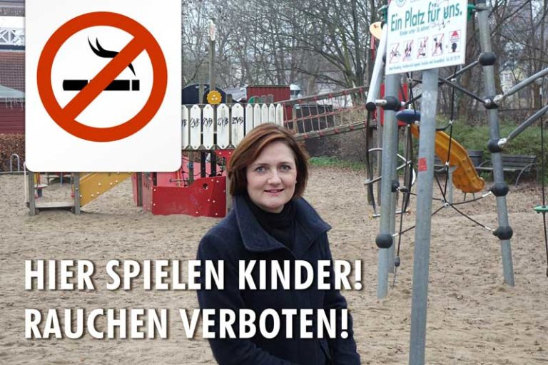 """Flensburg: """"No smoking!"""" auf Spielplätzen"""