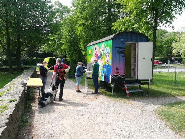 Christiansens Gärten: Das wünschen sich die Flensburger*innen – Bürgerbeteiligung vor Ort