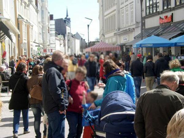 """Flensburg: Engagement für """"Raus aus dem toten Winkel"""" geht weiter"""