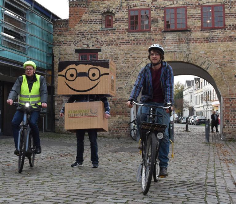 Flensburg: Erneuter Kilometerrekord bei Radfahrkampagne