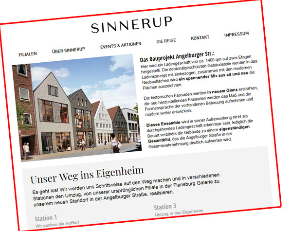 Stadt Flensburg: Kein Baustopp bei Sinnerup angeordnet