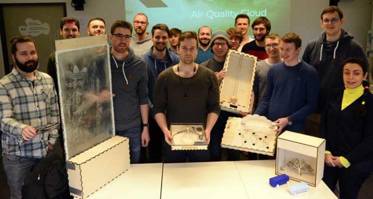HS Flensburg: Intelligente Duschen und smarte Mülleimer: Studierende zeigen Umweltbewusstsein