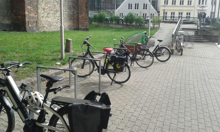 Flensburg: Fahrrad abstellen – aber sicher!  Nicht nur der Weg ist das Ziel