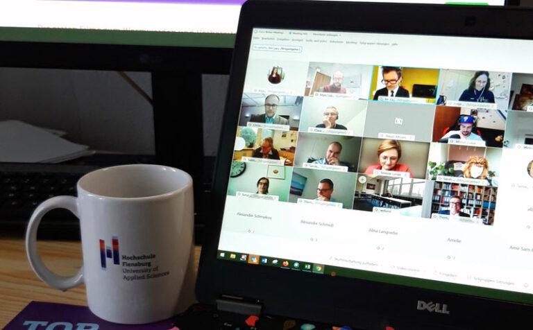 Digital, aber nah! Hochschule begrüßt neue Studierende