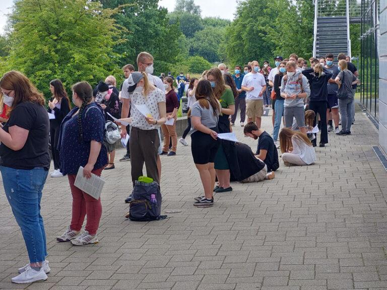 Flensburg: Großes Interesse der Studierenden an COVID-19 Schutzimpfung