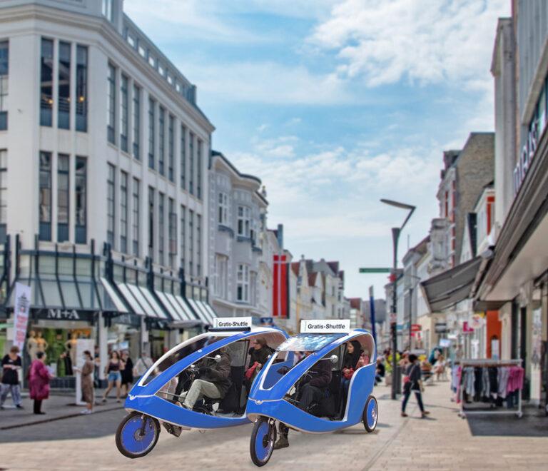 Flensburg ist mobil  – Samstag und sogar am Sonntag shoppen, staunen und informieren