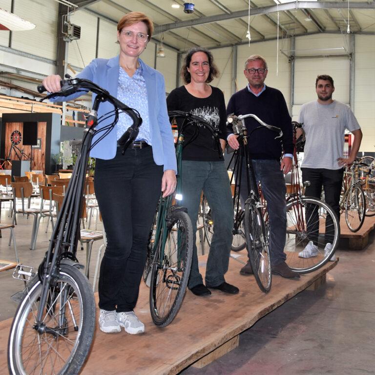 Flensburger Mobilitätsfest an der Schiffbrücke im Rahmen der Europäischen Mobilitätswoche